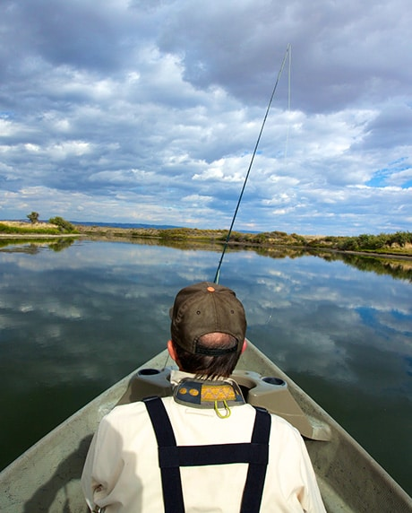 Fishing-Boat-On-The-North-Platte